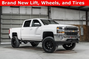 Lifted 2016 Chevrolet Silverado 1500 4x4 Crew Cab LT Z71  $42,988