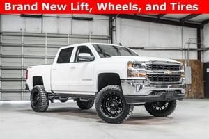 Lifted 2016 Chevrolet Silverado 1500 4x4 Crew Cab LT  $42,488