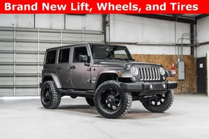 Lifted 2016 Jeep Wrangler 4WD Unlimited Sahara  $39,800