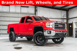 Lifted 2014 GMC Sierra 1500 4x4 Double Cab SLE Z71  $35,000