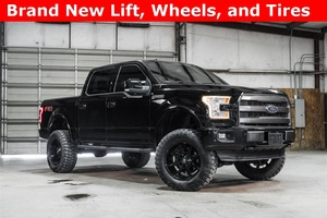Lifted 2016 Ford F-150 4x4 SuperCrew Lariat FX4  $49,077