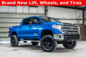 Lifted 2016 Toyota Tundra 4x4 SuperCrew SR5  $44,034