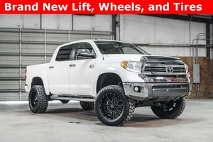 Lifted 2016 Toyota Tundra 4x4 CrewMax 1794 Edition  $52,488