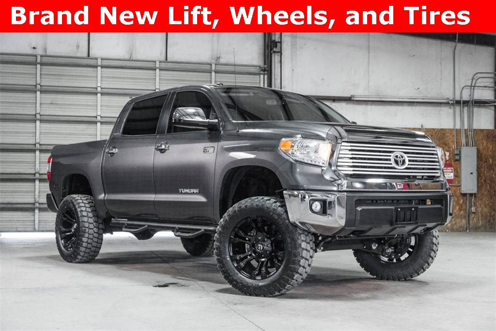 Lifted 2016 Toyota Tundra 4x4 CrewMax Limited