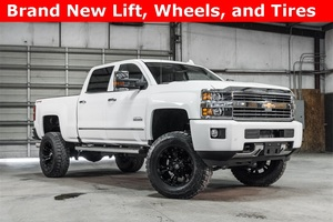 Lifted 2016 Chevrolet Silverado 2500HD 4x4 Crew Cab High Country  $64,988