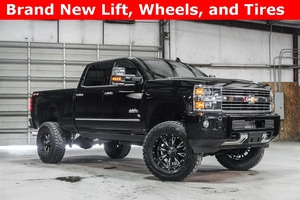 Lifted 2016 Chevrolet Silverado 2500HD 4x4 Crew Cab High Country  $60,998