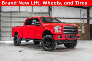 Lifted 2016 Ford F-150 4x4 SuperCrew Lariat FX4  $51,488
