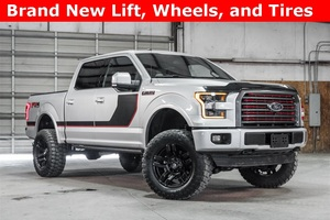 Lifted 2016 Ford F-150 4x4 SuperCrew Lariat FX4  $52,488