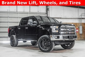 Lifted 2016 Ford F-150 4x4 SuperCrew Lariat FX4  $49,988