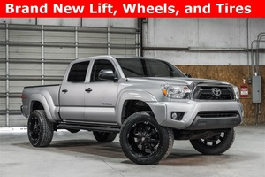 Lifted 2014 Toyota Tacoma 2WD Double Cab PreRunner  $25,989