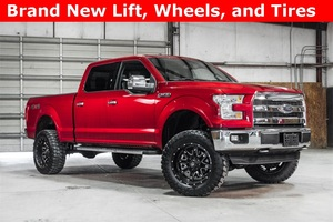 Lifted 2015 Ford F-150 4x4 SuperCrew Lariat  $46,988