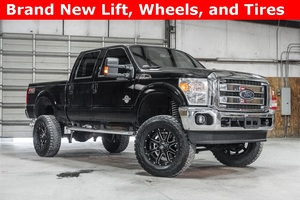 Lifted 2016 Ford F-250SD 4x4 Crew Cab Lariat FX4  $59,988