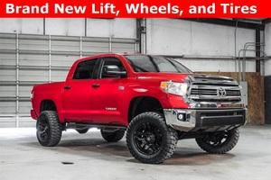 Lifted 2016 Toyota Tundra 4x4 CrewMax SR5  $43,987