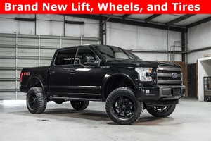 Lifted 2015 Ford F-150 4x4 SuperCrew Lariat FX4  $46,988