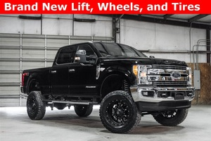 Lifted 2017 Ford F-350SD 4x4 Crew Cab Lariat FX4  $70,989