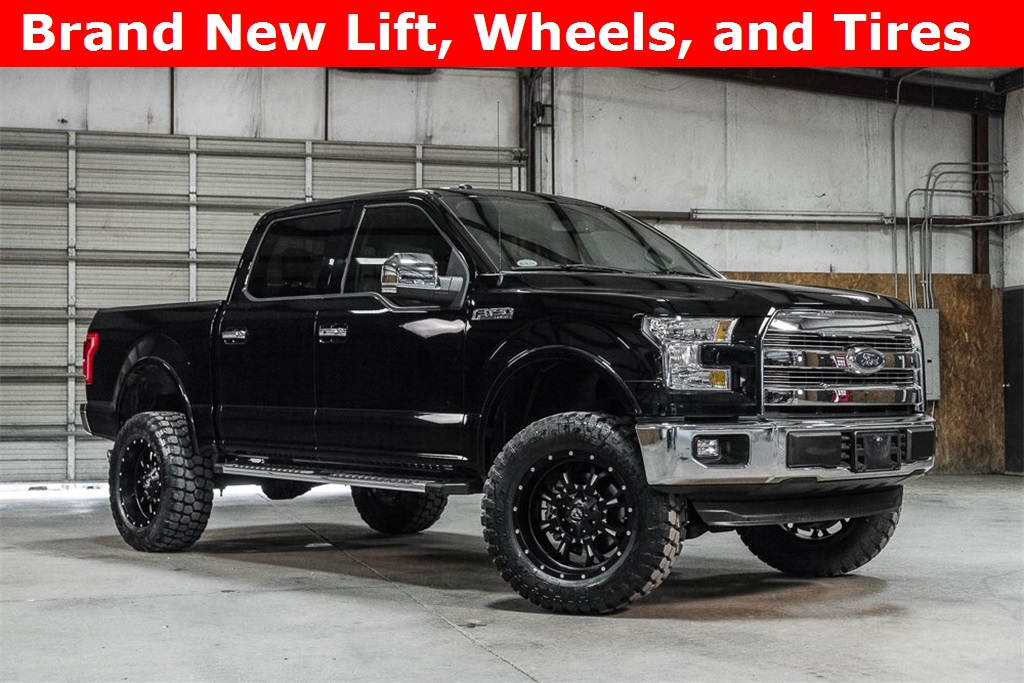 Lifted 2016 Ford F-150 2WD SuperCrew Lariat