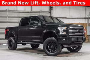 Lifted 2015 Ford F-150 4x4 SuperCrew Lariat FX4  $44,988