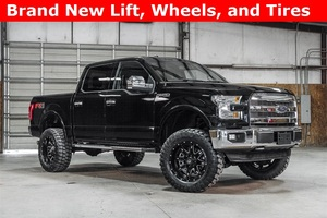Lifted 2016 Ford F-150 4x4 SuperCrew Lariat FX4  $48,988
