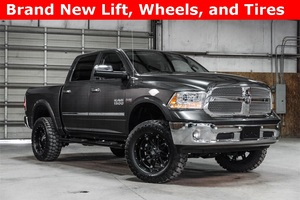 Lifted 2015 Ram 1500 4x4 Crew Cab Laramie Limited  $42,988