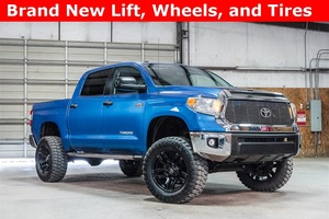 Lifted 2016 Toyota Tundra 4x4 SuperCrew SR5  $43,488