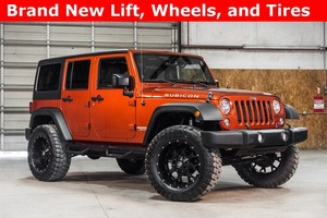 Lifted 2014 Jeep Wrangler 4WD Unlimited Rubicon  $40,988