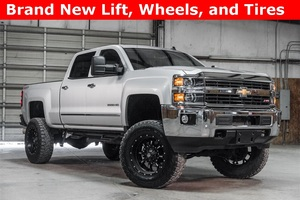 Lifted 2015 Chevrolet Silverado 2500HD 4x4 Crew Cab LTZ Z71  $57,988