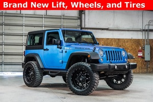 Lifted 2015 Jeep Wrangler 4WD Unlimited Rubicon  $39,988