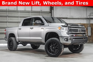 Lifted 2017 Toyota Tundra 4x4 CrewMax 1794 Edition  $52,488