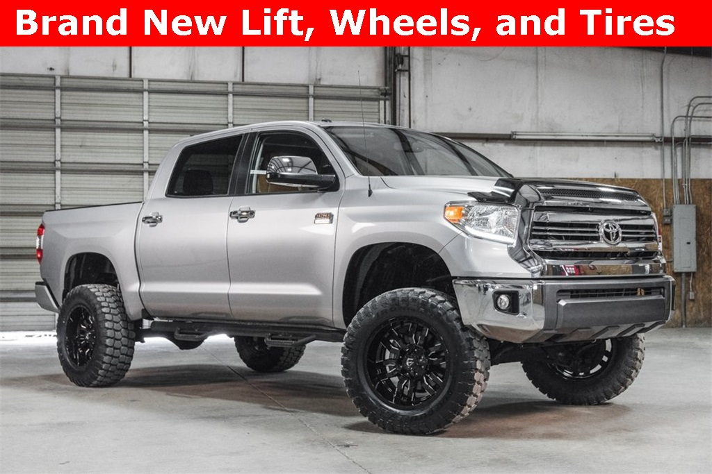 Lifted 2017 Toyota Tundra 4x4 CrewMax 1794 Edition