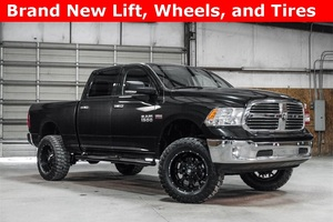 Lifted 2015 Ram 1500 4x4 Crew Cab SLT Big Horn  $35,988
