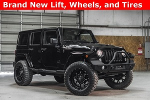 Lifted 2015 Jeep Wrangler 4WD Unlimited Sahara  $38,988