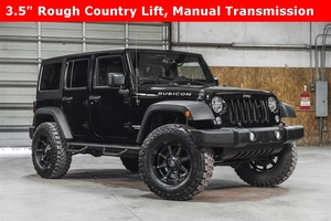 Lifted 2016 Jeep Wrangler 4WD Unlimited Rubicon  $44,988
