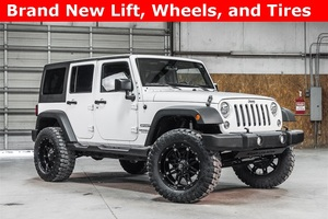Lifted 2016 Jeep Wrangler 4WD Unlimited Sport  $37,488
