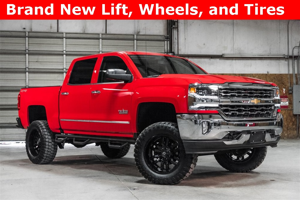 Lifted 2017 Chevrolet Silverado 1500 4x4 Crew Cab LTZ Texas Edition