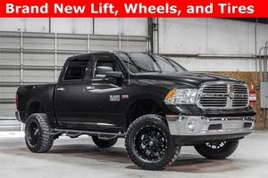 Lifted 2015 Ram 1500 4x4 Crew Cab SLT Big Horn  $34,897