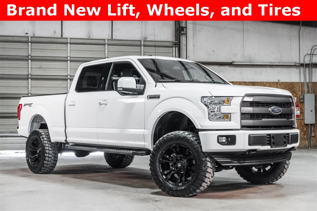 Lifted 2017 Ford F-150 4x4 SuperCrew Lariat Sport