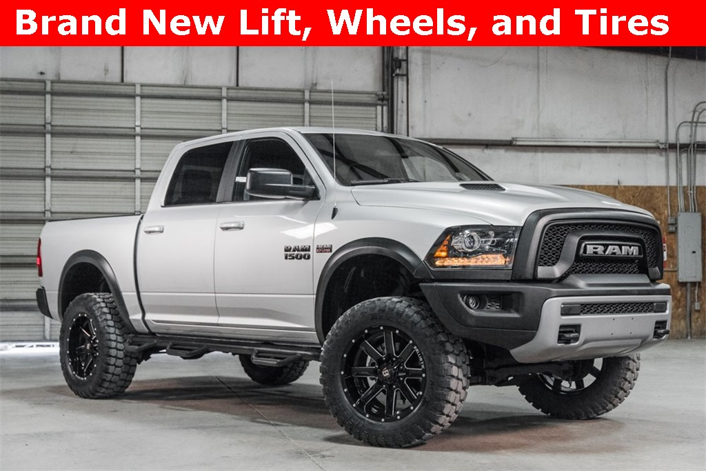 Lifted 2017 Ram 1500 4x4 Crew Cab Rebel