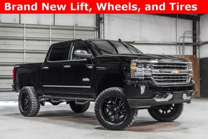 Lifted 2017 Chevrolet Silverado 1500 4x4 Crew Cab High Country  $56,988
