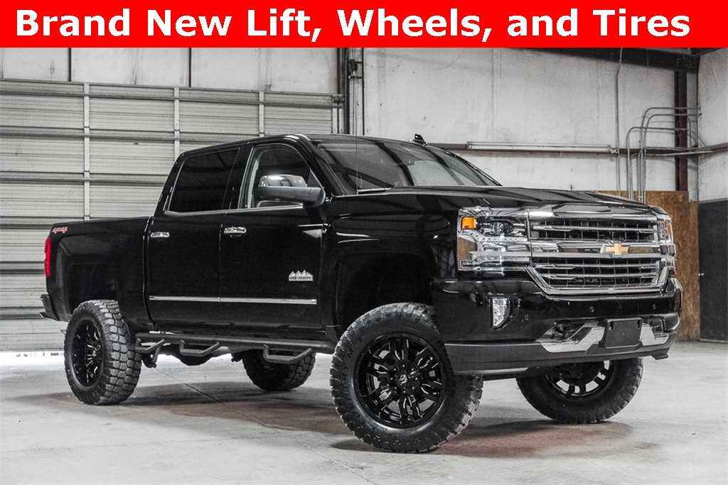 Lifted 2017 Chevrolet Silverado 1500 4x4 Crew Cab High Country