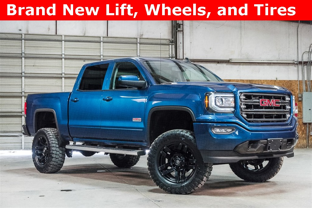 Lifted 2017 GMC Sierra 1500 4x4 Crew Cab SLT All Terrain