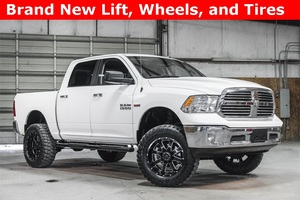 Lifted 2015 Ram 1500 4x4 Crew Cab SLT Big Horn  $34,988