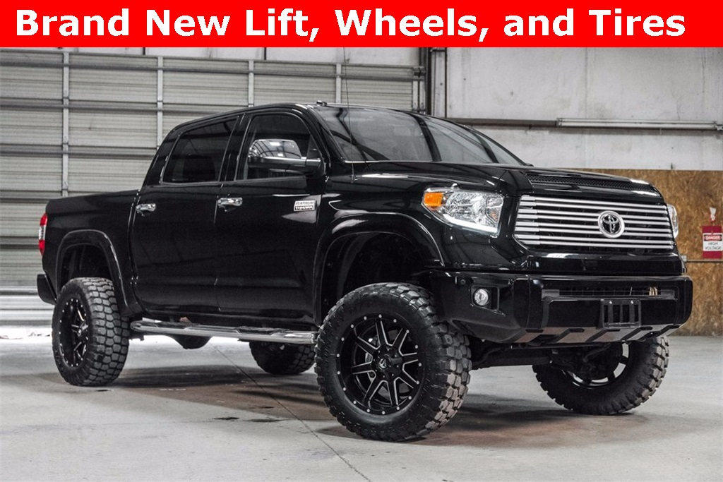 Lifted 2017 Toyota Tundra 4x4 CrewMax Platinum