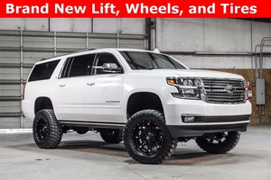 Lifted 2016 Chevrolet Suburban 4x4 LTZ  $63,488