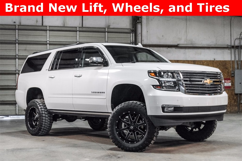 Lifted 2016 Chevrolet Suburban 4x4 LTZ